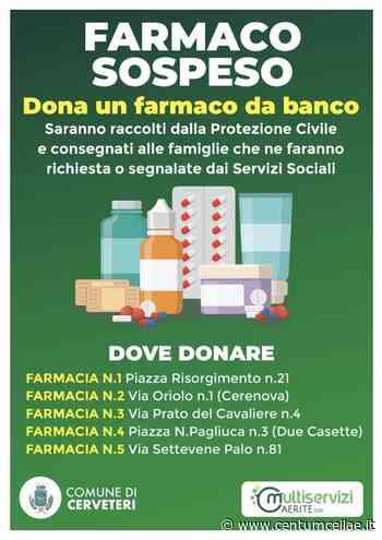 """Cerveteri. Comune e Multiservizi lanciano la campagna solidale """"farmaco sospeso"""" - Centumcellae News"""
