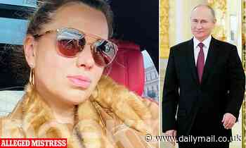 Pictured: Former cleaner, 45, who is said to be the mother of Vladimir Putin's 17-year-old lovechild