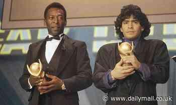 JEFF POWELL: Why Diego Maradona fails (just) to knock Pele off the No 1 spot