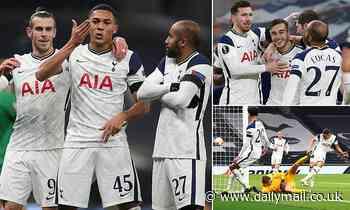 Tottenham 4-0 Ludogorets: Jose Mourinho's men run riot in the Europa League