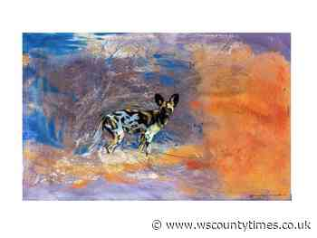 Horsham's Artists for Painted Dogs exhibition goes online - West Sussex County Times