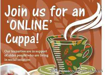 Free online tea parties launched for lonely older people in Horsham - West Sussex County Times