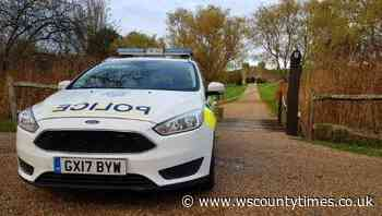 Police step up patrols in villages around Horsham after damage to cars - West Sussex County Times
