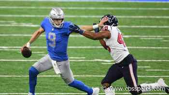 Matthew Stafford passes Joe Montana on all-time passing TD list, makes NFL history with Thanksgiving first