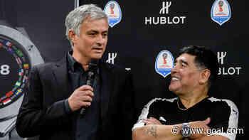 Mourinho reveals Maradona calls as he pays tribute to Argentina legend