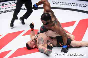 Tony 'Hulk' Johnson Smashes Daniel Omielanczuk in ACA 114 Title Headliner