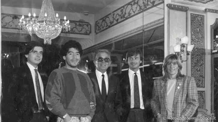 Il blitz di Maradona a Pavia per comprare la pelliccia - La Provincia Pavese