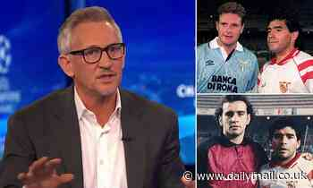 Gary Lineker was left in awe at Diego Maradona's 'impossible' ability