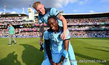 JOFRA ARCHER: We're ready to make history... England's goal is to hold 50-over and T20 world titles