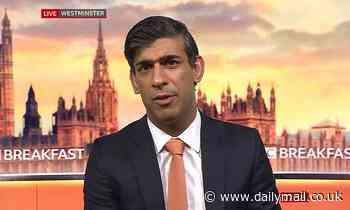Rishi Sunak refuses to rule out raising income tax, VAT or National Insurance