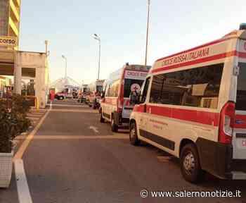 Covid a Salerno: ritorna la fila di ambulanze al pronto soccorso del Ruggi - Salernonotizie.it