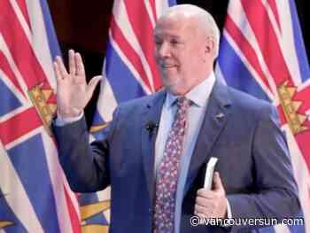 B.C. Premier John Horgan unveils his new cabinet