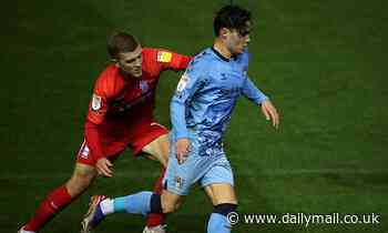 THE SECRET SCOUT: Coventry's rising star Callum O'Hare has shown shades of Jack Grealish