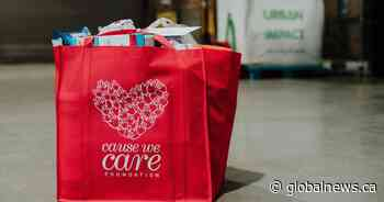 Global BC supports Cause We Care Holiday Care Package Drive
