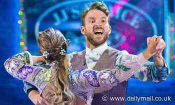 Strictly's JJ Chalmers battling through pain after shrapnel embedded in his leg became INFECTED