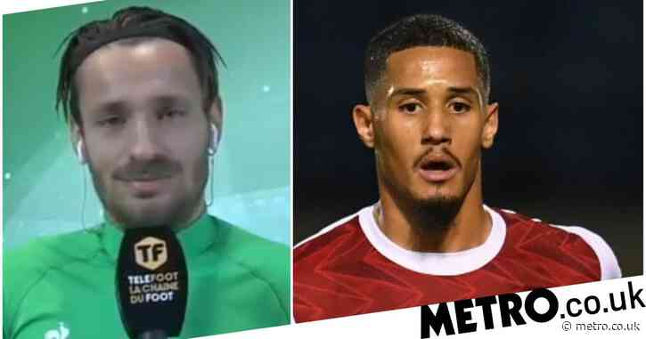 Ex-Arsenal defender Mathieu Debuchy endorses William Saliba's return to Saint-Etienne