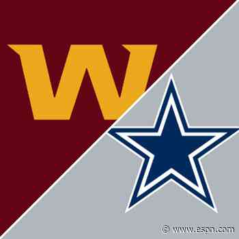 Follow live: Dallas, Washington battling down the stretch in key NFC East game