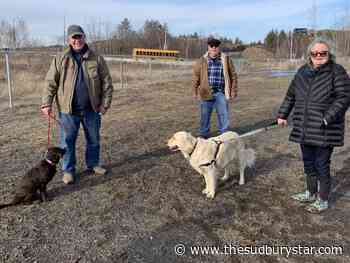 Third dog park opens in Sudbury
