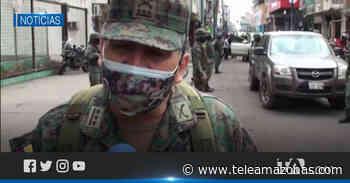Fuerzas Armadas se sumaron a los operativos de seguridad en Machala - Teleamazonas