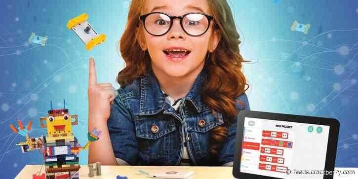 Get your kids into coding with this fun DIY kit, now 44% off