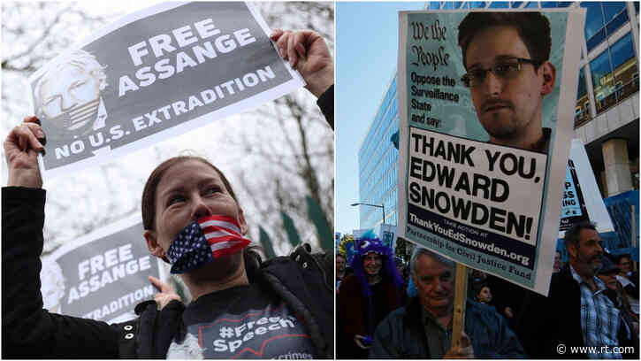 Trump must pardon Snowden & Assange for helping expose 'deep state,' says Tulsi Gabbard amid chorus against war on whistleblowers