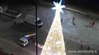 """Dietrofront del sindaco di Viareggio: """"Non smonterò l'albero di Natale"""" - LA NAZIONE"""