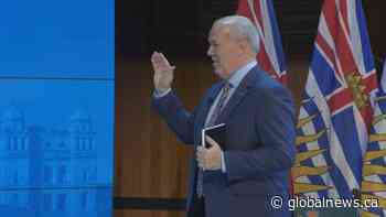 B.C's new NDP Cabinet sworn in
