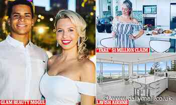 Beauty mogul Cassandra House accused of attempted fraud over $1million Airbnb insurance claim