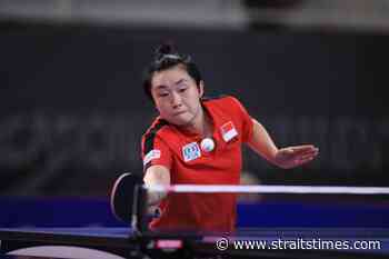 Table tennis: Singapore's Feng Tianwei back to winning ways in Macau promotional event - The Straits Times