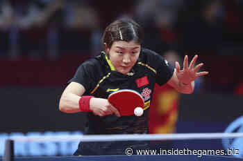 Macau set to host WTT promotional showcase featuring 32 table tennis stars - Insidethegames.biz