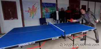 Inter Dept Employees Table Tennis Tournament 2020 at IUST - Brighter Kashmir