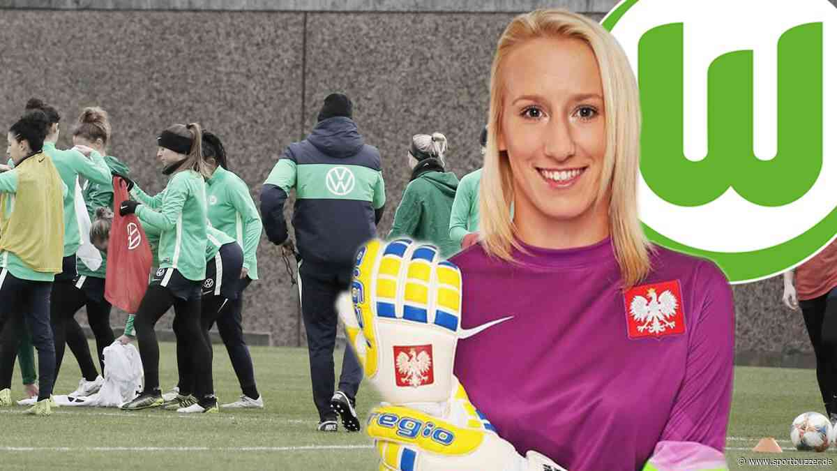 Corona-Alarm im Nationalteam: Wolfsburg-Torfrau Kiedrzynek reist wieder zurück - Sportbuzzer