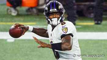 Sources: Ravens QB Jackson positive for virus
