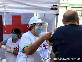 Jornada de vacunación en el barrio 13 de Julio de San Martín - Que Pasa Web
