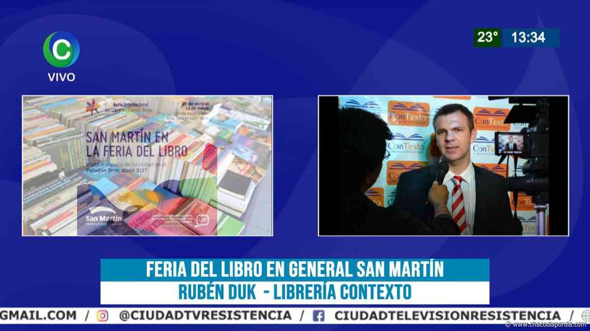 """Feria del Libro Digital, desde San Martín: """"Estamos en pleno desarrollo"""", destacó el empresario Rubén Duk - Chaco Dia Por Dia"""