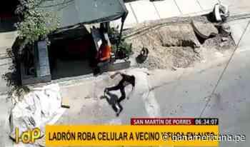Delincuentes acechan a todas horas en San Martín de Porres | Panamericana TV - Panamericana Televisión
