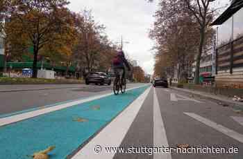 Verkehr in Stuttgart - Pop-up-Radweg auf der Theo ist Geschichte - Stuttgarter Nachrichten