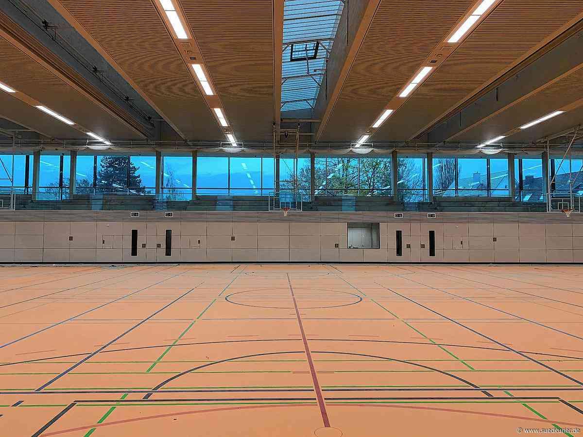 Friedrichshafen: Neue Sporthalle in Fischbach ist fast fertig: Schule und Vereine sollen sie im Frühjahr nutzen können - SÜDKURIER Online