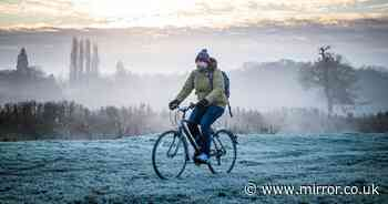 Icy fog plunges temperatures to -5C over weekend in dour end to November