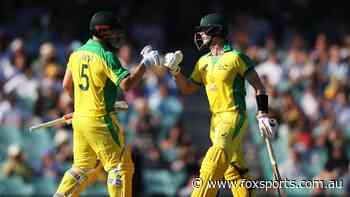 LIVE: India falling apart as Finch tons up and Smith whacks SIX fours in 10 balls