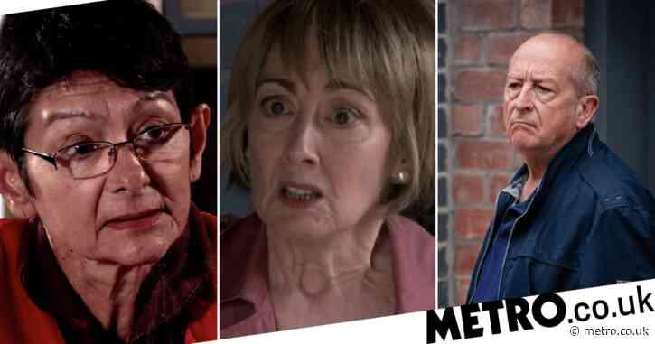Coronation Street spoilers: Geoff Metcalfe destroyed as Elaine and Yasmeen take him down?