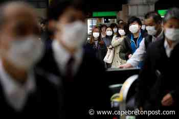 Tokyo daily coronavirus cases hit record 570 - Cape Breton Post