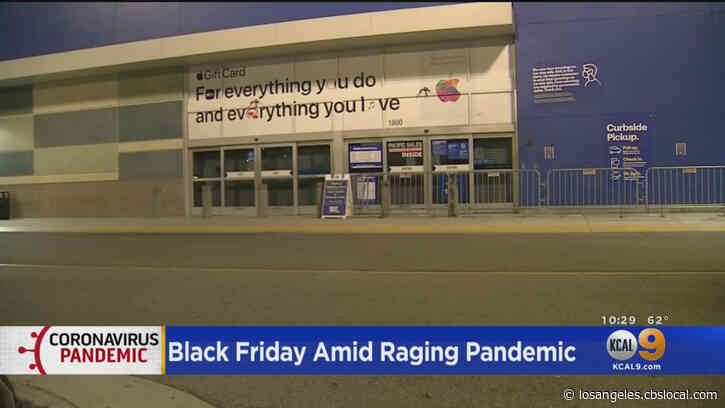Black Friday Looks Different In 2020 As Stores Remain Shuttered On Thanksgiving Night