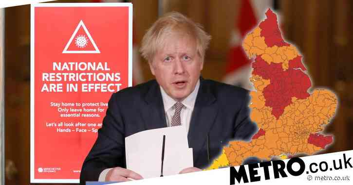 Boris facing 'biggest ever revolt' after 99% of England hit by toughest rules