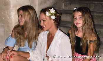 Amanda Holden delights with unseen childhood photos of her daughters