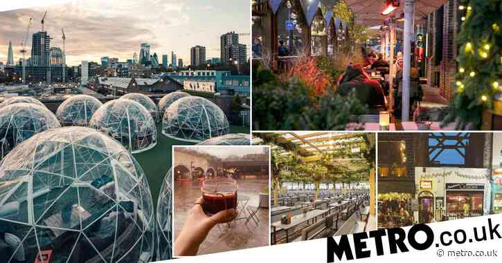 The best restaurants and pubs that serve food in London with heated outdoor seating
