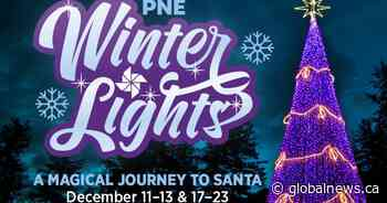 Global BC sponsors PNE WinterLights