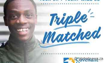 Covenant House Vancouver's Triple Match Campaign