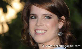 Princess Eugenie is glam in chic zip-up dress for new picture
