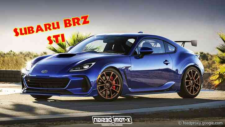 Subaru Clearly Needs to Build a BRZ STI